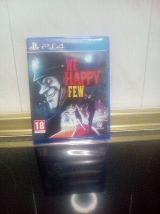 Juego PS4 We Happy Few como nuevo