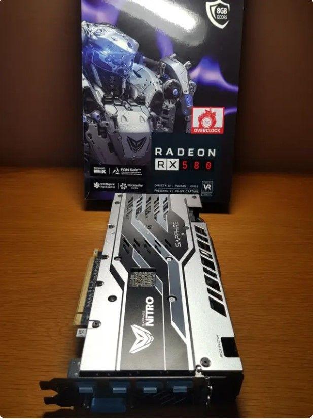 Sapphire Nitro+ Radeon RX580 8GB DDR5