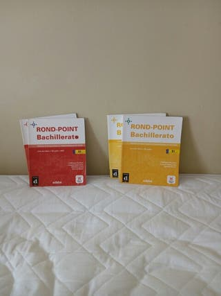 Libros de francés.