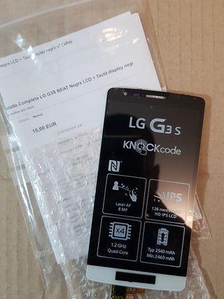 Pantalla Lcd + tactil LG G3s Beat nueva