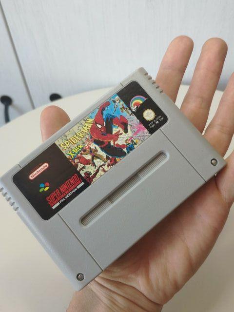 juego Spiderman x-men de super Nintendo Pal esp