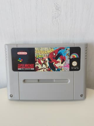 juego Spiderman x-men de super Nintendo Pal esp