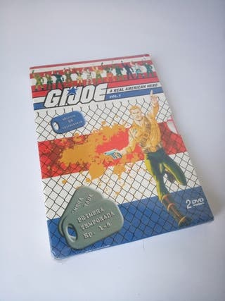 GIJOE 2 DVDs con los primeros 5 Capitulos