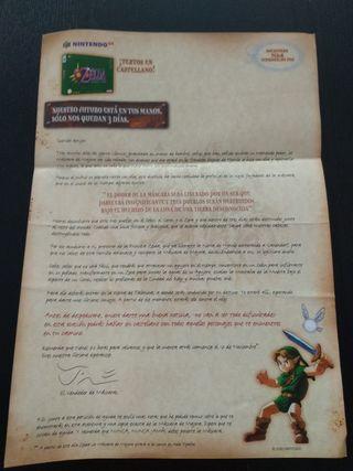 Carta promocional Zelda Majora's Mask