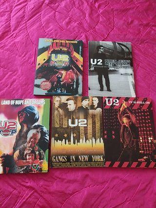 lote U2 coleccionista DVD