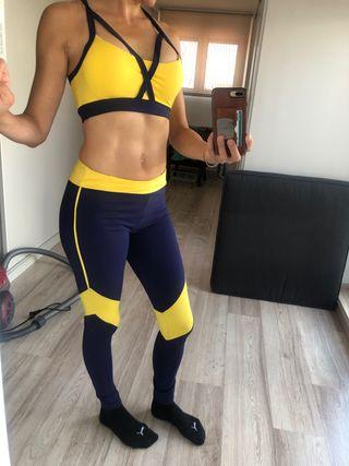 Conjunto leggings y top
