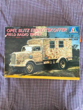 Maqueta camión Italeri Opel Blitz Field Radio 1:48