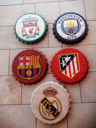 Chapas Vintage Redondas