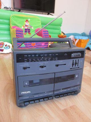 Radio Philips Vintage Antiguo