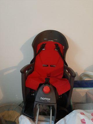 silla bebé bici