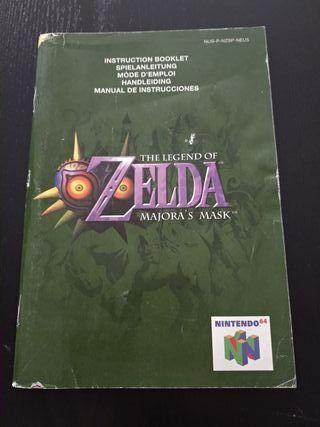 Manual Zelda Majora's Mask