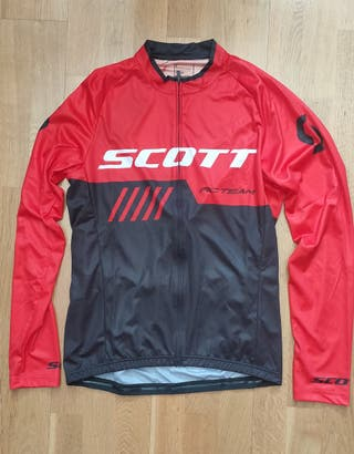 maillot manga larga Scott RC team 10 T-L
