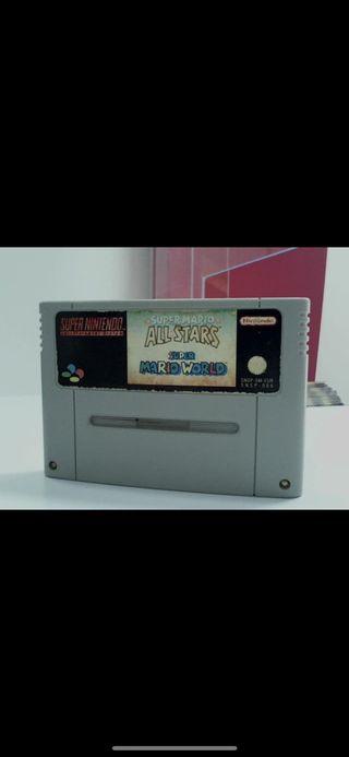 Super Mario all stars súper Nintendo
