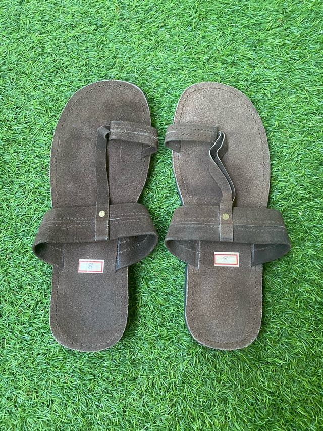 Sandalias de piel artesanales