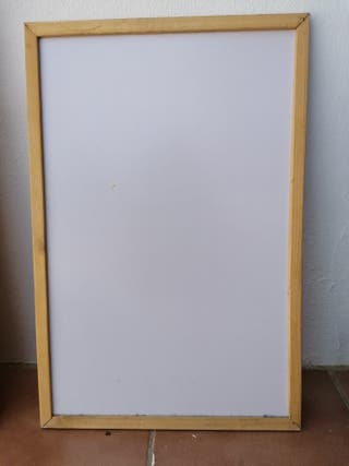 Tablero pizarra blanca 40x60 cm