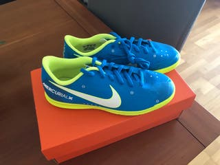 Nike MERCURIAL - NEYMAR - Blue/Yellow/White