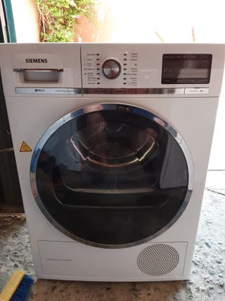 Secadora Siemens 8 kg serie IQ800 self cleaning