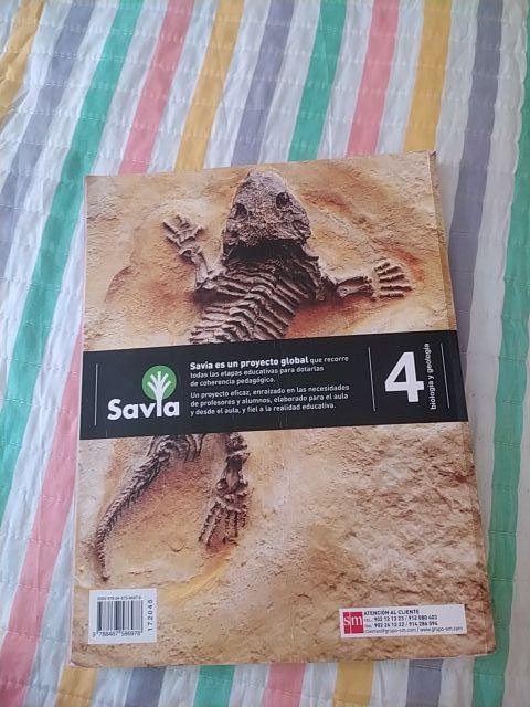 Libro de Biología y geología 4 eso
