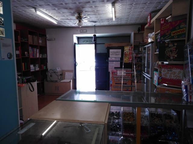 Traspaso de libreria/Papeleria