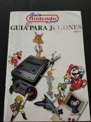 Guia para jugones Club Nintendo n°1