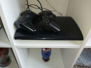 PS3 Slim 500GB 2 Mandos y juegos