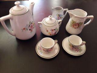 Juego de café/té antiguo