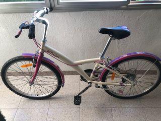 """Bicicleta 24"""" niña"""
