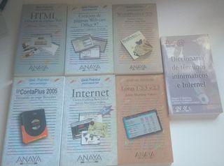 Guías - Libros informática. editorial Anaya