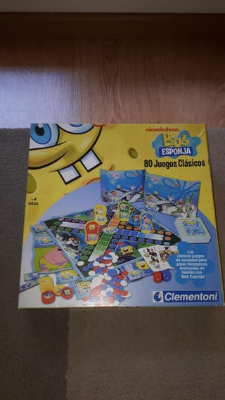 80 juegos clásicos Bob Esponja