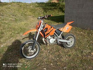 Moto de Cross KTM 65cc