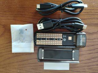 Carcasa USB ssd M.2 PCIE NVME