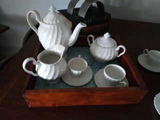 juego cafe inglés Johnson Bros porcelana
