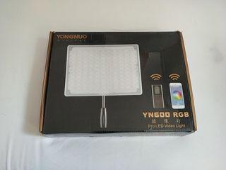 Panel LED RGB Yongnuo YN-600 con cable AC
