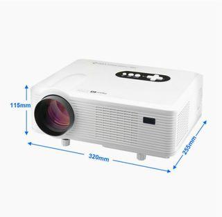 Proyector Excelvan CL720D - HD LED 1080P blanco