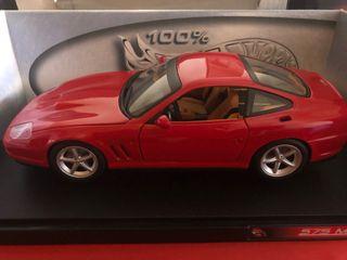 Coche Ferrari 575MM escala 1/18