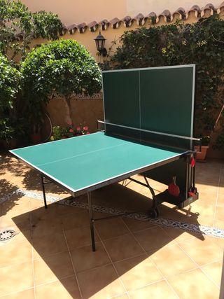 Mesa ping pong Sunflex exterior