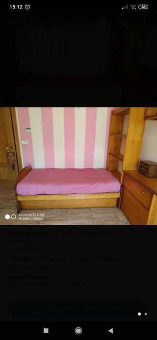 rebajadooooo dormitorio de pino