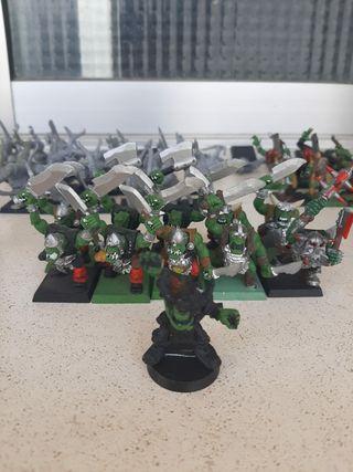 soldados de juguete Warhammer