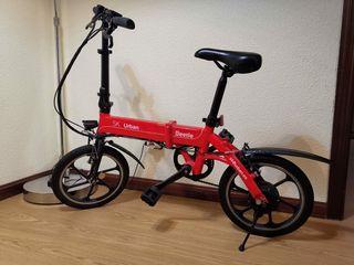 Como nueva!! Bicicleta eléctrica plegable