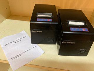 2 Impresoras Papel termico 58 mm
