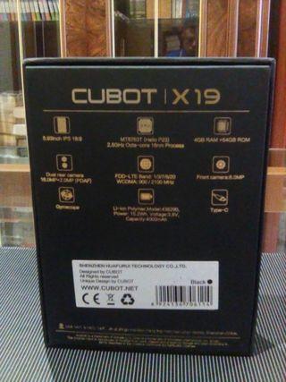 cubot x19 muy poco uso,