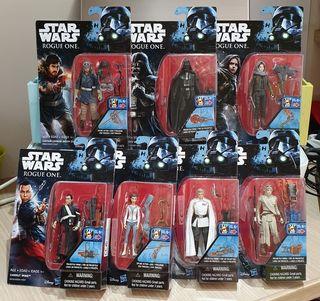 nuevas precintadas lote 7 figuras figura star wars