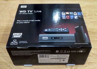 Reproductor Multimedia WD TV Live