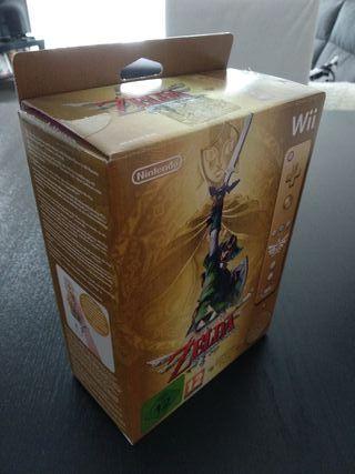 Caja, BSO y manuales Zelda Skyward Sword