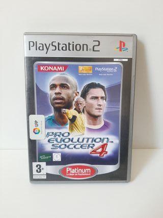 Pro Evolution Soccer 4. PlayStation 2.