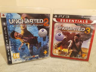 Lote Uncharted PS3