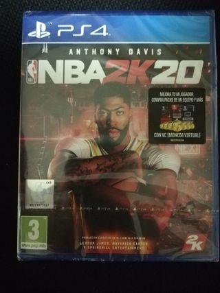 NBA 2K20 PS4 NUEVO PRECINTADO