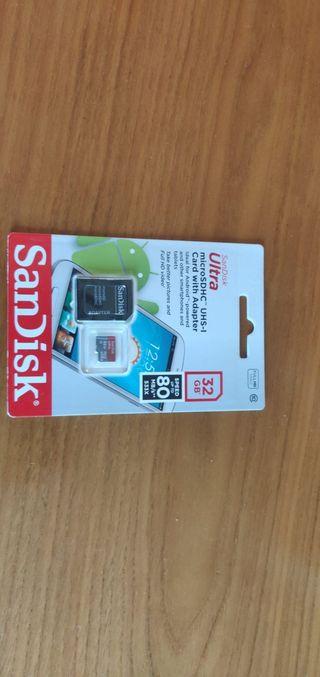 Tajeta de memoria micro SD 32 gb SanDisk
