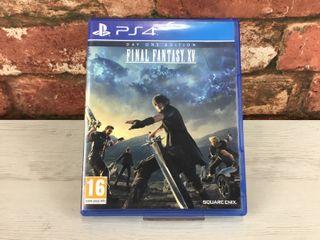 Final Fantasy XV Day One Edition para PS4