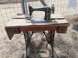 Maquina de coser Singer para restaurar